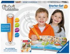 Cover-Bild zu Ravensburger tiptoi Starter-Set 00804: Stift und Bauernhof-Buch - Lernsystem für Kinder ab 4 Jahren