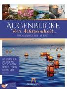 Cover-Bild zu Augenblicke der Achtsamkeit - Wochenplaner 2020 von Ackermann Kunstverlag (Hrsg.)