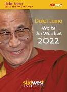 Cover-Bild zu Dalai Lama - Worte der Weisheit 2022 Tagesabreißkalender