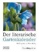 Cover-Bild zu Der literarische Gartenkalender 2022