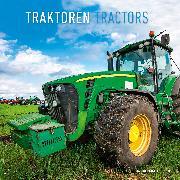 Cover-Bild zu Traktoren 2022 - Broschürenkalender 30x30 cm (30x60 geöffnet) - Kalender mit Platz für Notizen - Tractors - Bildkalender - Wandplaner - Wandkalender