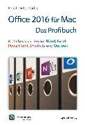 Cover-Bild zu Radke, Horst-Dieter: Office 2016 für Mac - Das Profibuch (eBook)
