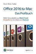 Cover-Bild zu Radke, Horst-Dieter: Office 2016 für Mac - Das Profibuch
