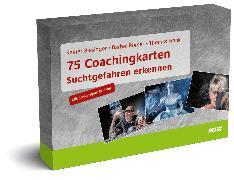 Cover-Bild zu Biesinger, Rainer: 75 Coachingkarten Suchtgefahren erkennen