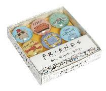 Cover-Bild zu Insight Editions: Friends: Glass Magnet Set (Set of 6)