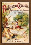 Cover-Bild zu Defoe, Daniel: Robinson Crusoe's Reisen, wunderbare Abenteuer und Erlebnisse (eBook)