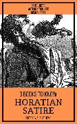 Cover-Bild zu Trollope, Anthony: 3 books to know Horatian Satire (eBook)