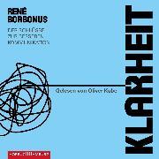 Cover-Bild zu Borbonus, René: Klarheit (Audio Download)