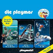 Cover-Bild zu Fickel, Florian: Die Playmos - Das Original Playmobil Hörspiel, Die große Weltall-Box, Folgen 29, 36, 48 (Audio Download)