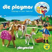 Cover-Bild zu Fickel, Florian: Die Playmos - Das Original Playmobil Hörspiel, Folge 49: Sabotage auf dem Reiterhof (Audio Download)