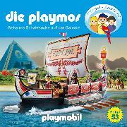 Cover-Bild zu Fickel, Florian: Die Playmos - Das Original Playmobil Hörspiel, Folge 53: Geheime Schatzsuche auf der Galeere (Audio Download)