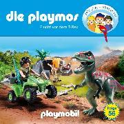 Cover-Bild zu Fickel, Florian: Die Playmos - Das Original Playmobil Hörspiel, Folge 56: Flucht vor dem T-Rex (Audio Download)