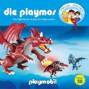 Cover-Bild zu Fickel, Florian: Die Playmos - Das Original Playmobil Hörspiel, Folge 58: Wettkampf der Drachenreiter (Audio Download)