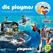 Cover-Bild zu Fickel, Florian: Die Playmos - Das Original Playmobil Hörspiel, Folge 59: Auf Verfolgungsjagd mit den Top Agents (Audio Download)