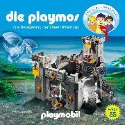 Cover-Bild zu Fickel, Florian: Die Playmos - Das Original Playmobil Hörspiel, Folge 55: Die Belagerung der Löwenritterburg (Audio Download)