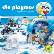 Cover-Bild zu Fickel, Florian: Die Playmos - Das Original Playmobil Hörspiel, Folge 54: Angriff der Eispiraten (Audio Download)