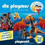 Cover-Bild zu Fickel, Florian: Die Playmos - Das Original Playmobil Hörspiel, Folge 50: Die heiße Spur der Drachen (Audio Download)