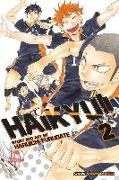Cover-Bild zu Furudate, Haruichi: Haikyu!!, Vol. 2