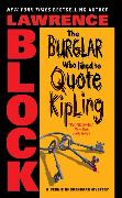 Cover-Bild zu Block, Lawrence: Burglar Who Liked to Quote Kipling, The