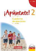 Cover-Bild zu ¡Apúntate!, 2. Fremdsprache, Ausgabe 2008, Band 2, Cuaderno de ejercicios - Lehrerfassung inkl. CD von Kolacki, Heike