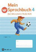 Cover-Bild zu Mein Sprachbuch, Ausgabe Bayern, 4. Jahrgangsstufe, Das bärenstarke Förderheft, Arbeitsheft von Duscher, Sandra