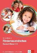 Cover-Bild zu Förderbausteinchen Deutsch Klasse 1/2 von Goßmann, Martina