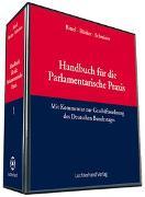 Cover-Bild zu Bücker, Joseph: Handbuch für die Parlamentarische Praxis