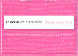 """Cover-Bild zu Lanceur de Discussion """"Soirée entre filles"""""""