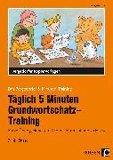 Cover-Bild zu Täglich 5 Minuten Grundwortschatz-Training - 3./4. Klasse von Jebautzke, Kirstin