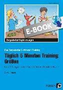 Cover-Bild zu Täglich 5 Minuten Training: Größen (eBook) von Kirschbaum, Klara