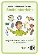 Cover-Bild zu Kleine Lückenfüller für den Sachunterricht von Kirschbaum, Klara