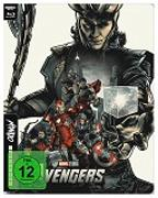 Cover-Bild zu The Avengers - 4K UHD Mondo Steelbook Edition