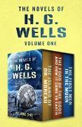 Cover-Bild zu The Novels of H. G. Wells Volume One (eBook) von Wells, H. G.