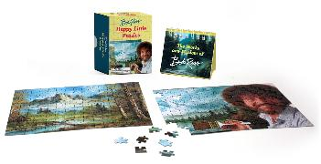 Cover-Bild zu Ross, Bob: Bob Ross: Happy Little Puzzles