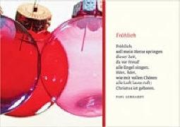 Cover-Bild zu Eschbach Grusskarten B6 Bunte Kugeln von Gerhardt, Paul
