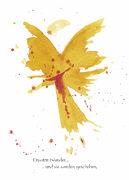 Cover-Bild zu Engel Postkarten - Erwarte Wunder ...und sie werden geschehen von Wolf, Conny (Illustr.)