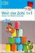 Cover-Bild zu LÜK - Welt der Zahl Einmaleins 2. Klasse