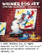 Cover-Bild zu Larson, Gary: Wiener Dog Art