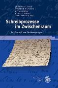 Cover-Bild zu Clare, Jennifer (Hrsg.): Schreibprozesse im Zwischenraum