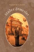 Cover-Bild zu Glauser, Friedrich: Studer ormester (eBook)
