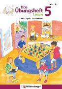 Cover-Bild zu Das Übungsheft Lesen 5 von Stehr, Sabine
