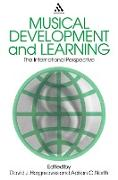 Cover-Bild zu Hargreaves, David J.: Musical Development and Learning (eBook)