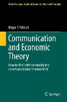Cover-Bild zu Priddat, Birger P.: Communication and Economic Theory