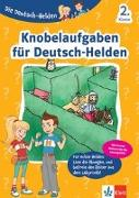 Cover-Bild zu Die Deutsch-Helden Knobelaufgaben für Deutsch-Helden 2. Klasse