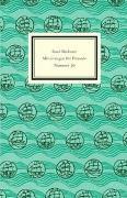 Cover-Bild zu Insel Verlag, Insel (Hrsg.): Insel-Bücherei. Mitteilungen für Freunde