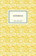 Cover-Bild zu Insel Verlag (Hrsg.): IB Notizbuch