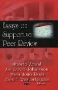 Cover-Bild zu Amaral, Alberto (Hrsg.): Essays in Supportive Peer Review