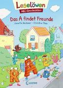 Cover-Bild zu Neubauer, Annette: Leselöwen - ABC-Geschichten - Das A findet Freunde