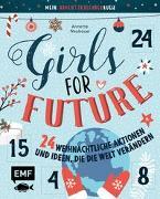 Cover-Bild zu Neubauer, Annette: Mein Adventskalender-Buch: Girls for Future