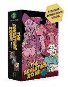 Cover-Bild zu McElroy, Clint: The Adventure Zone Boxed Set: Here There Be Gerblins, Murder on the Rockport Limited! and Petals to the Metal